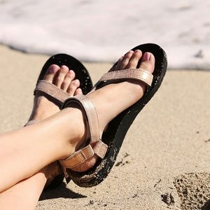 ROSE GOLD TEVAS FROM FREE PEOPLE